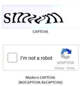 modern-capcha